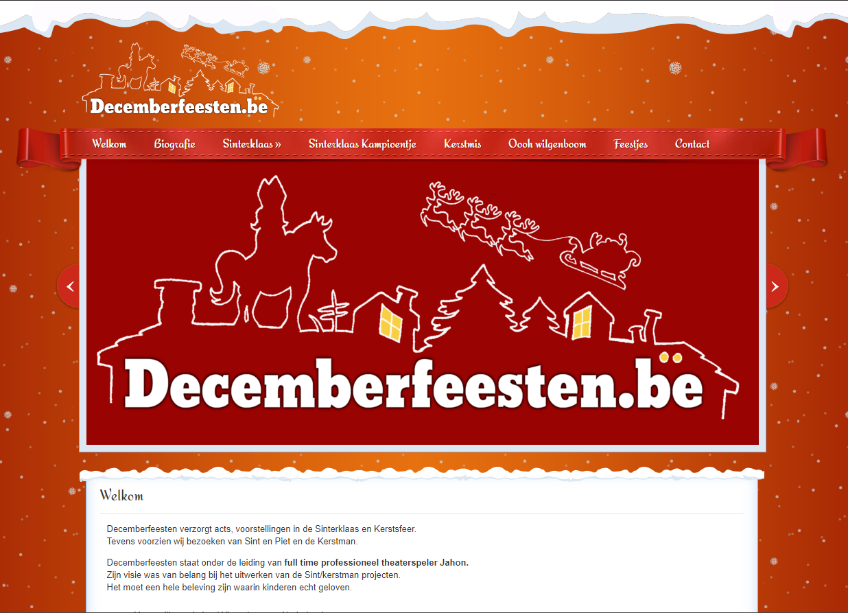 decemberfeesten screenshot