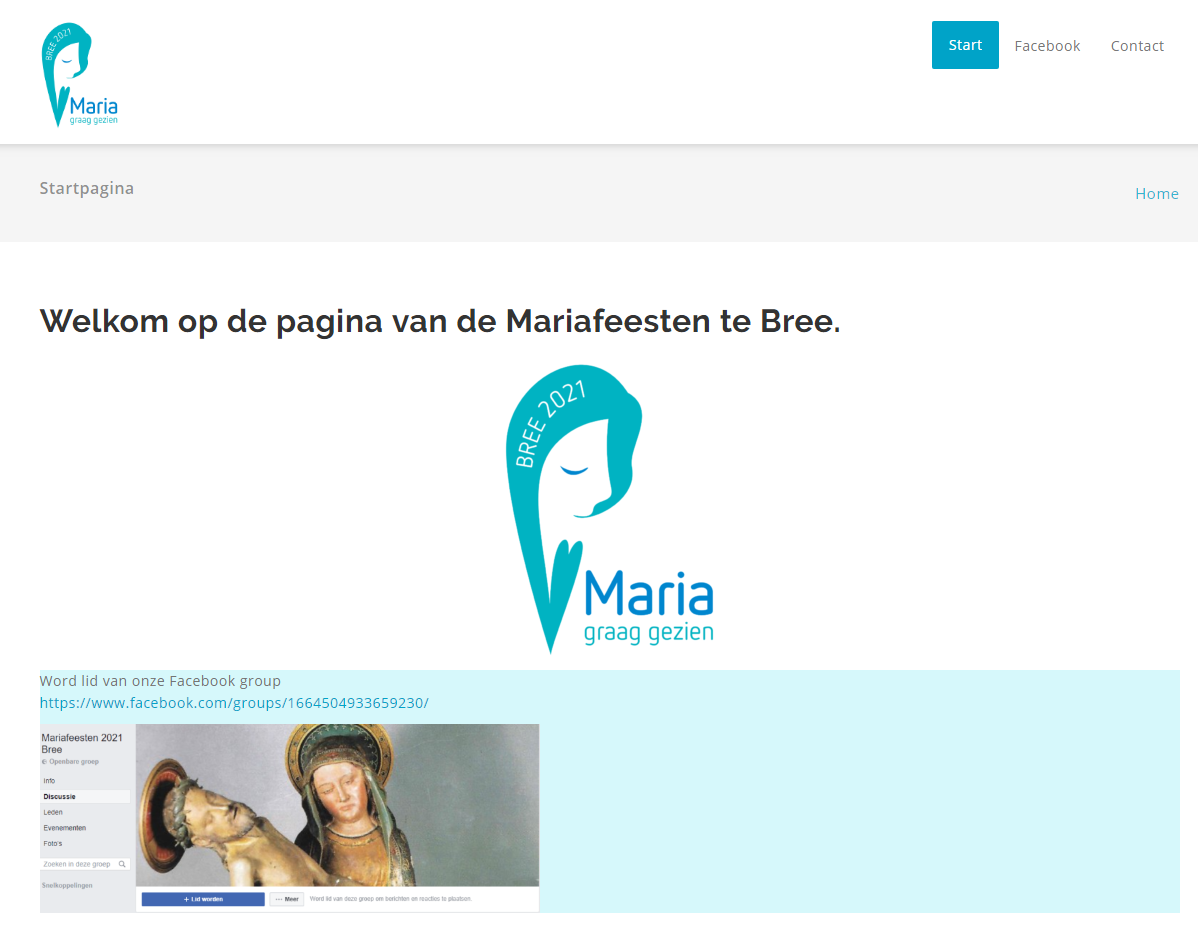 mariafeesten-bree screenshot